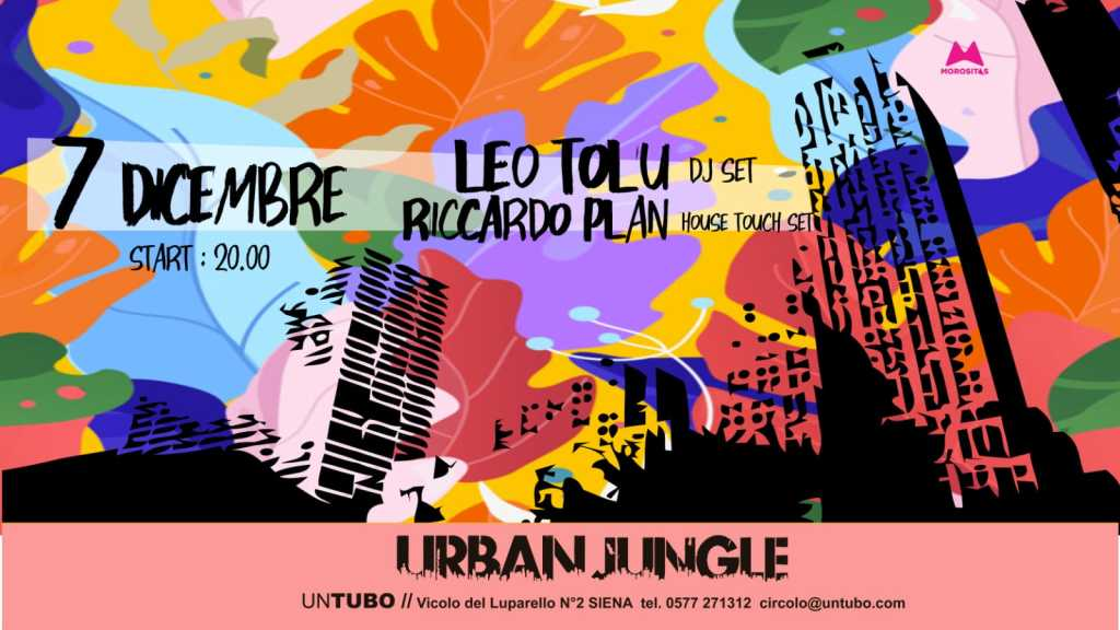 URBANJUNGLE dicembre