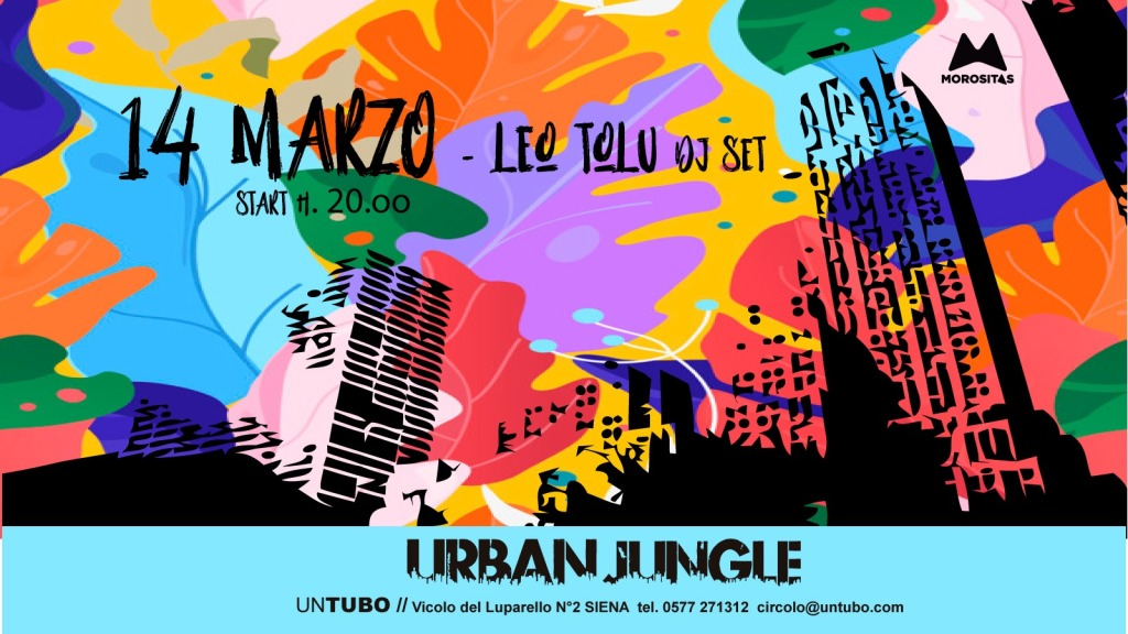 urban jungle 14 marzo20